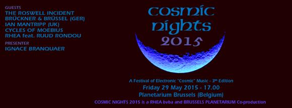Cosmic Nights 2015 poster